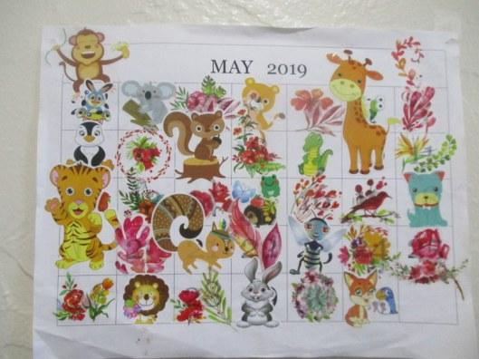 May Med Calendar